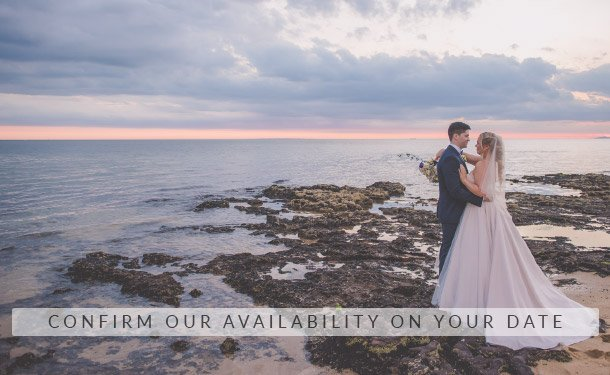 Melbourne Wedding Photography Availability Button