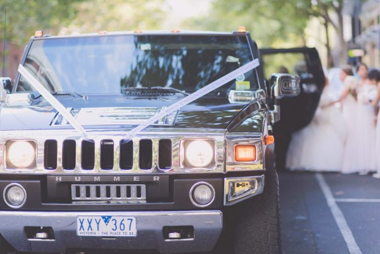 Melbourne Wedding Photography Hummer Bridal Party City