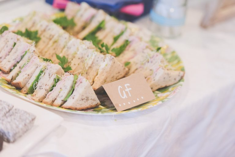 Great effort went into refreshments for guests at this Melbourne Wedding