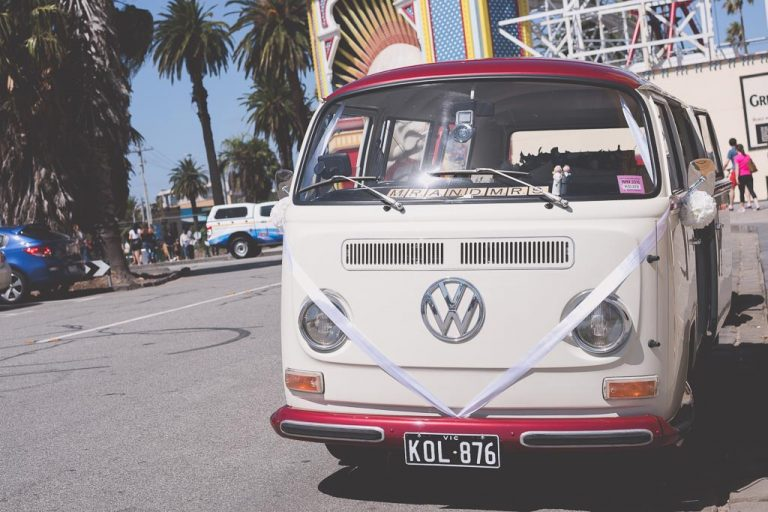 Volkswagen Kombi wedding car
