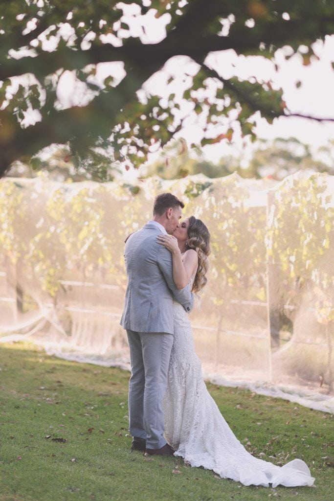 The Stillwater Vines were covered but that didn't stop this wedding creating stunning images.