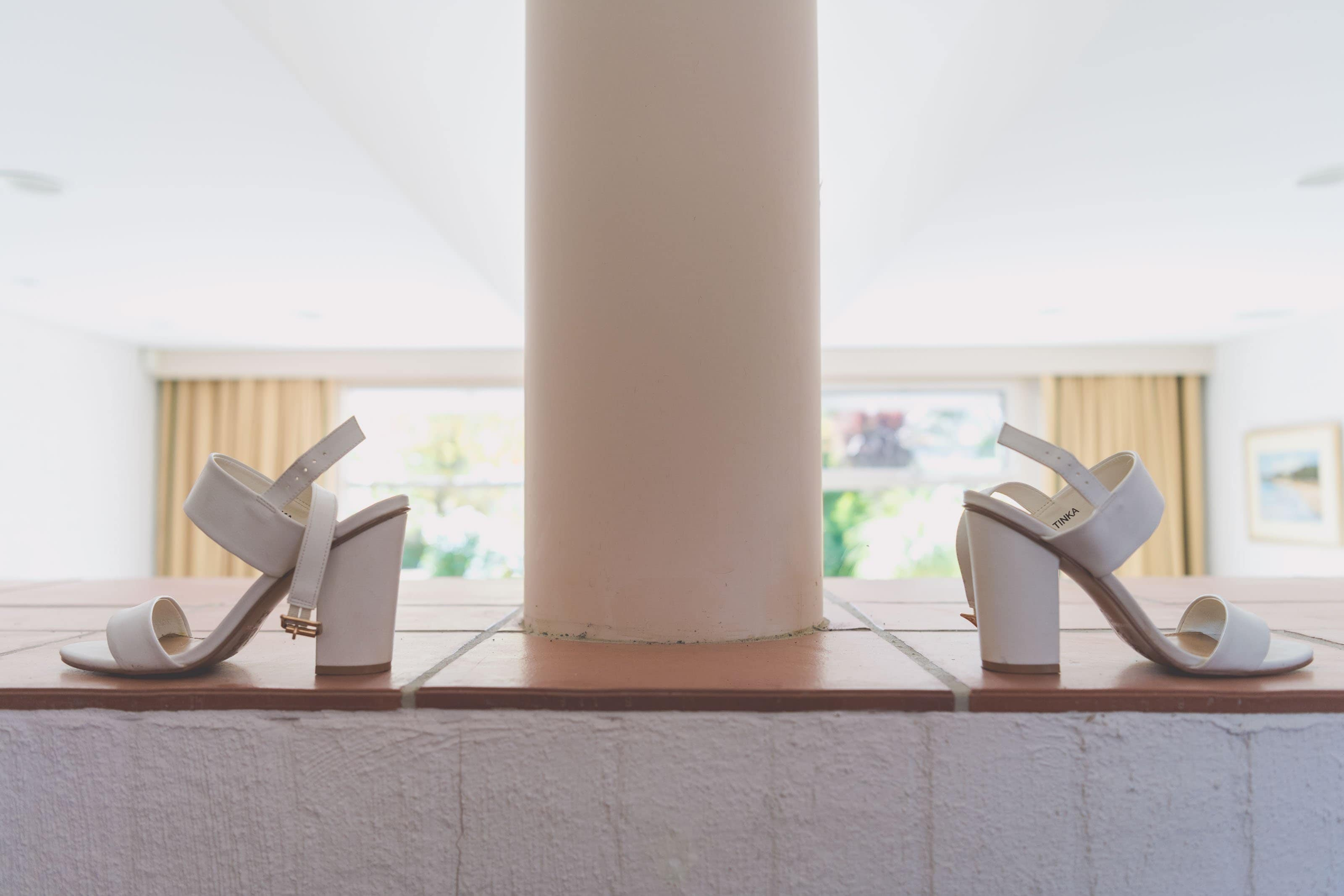 Wedding Photography Melbourne by Pause The Moment - Shoes for a wedding in Melbourne beautifully photographed - Paringa Estate Wedding Photographer