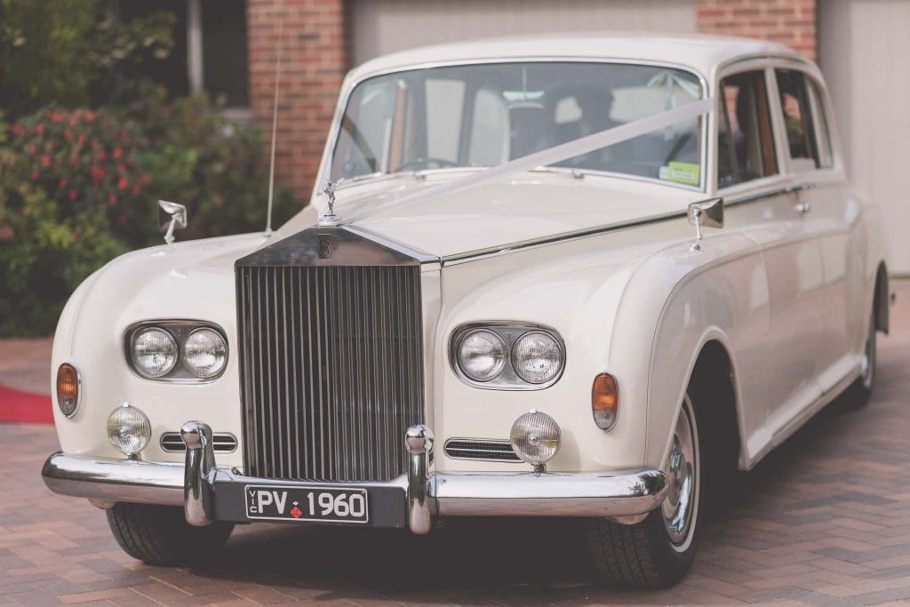 Wedding Photography Melbourne by Pause The Moment - Rolls Royce wedding car - Paringa Estate Wedding Photographer