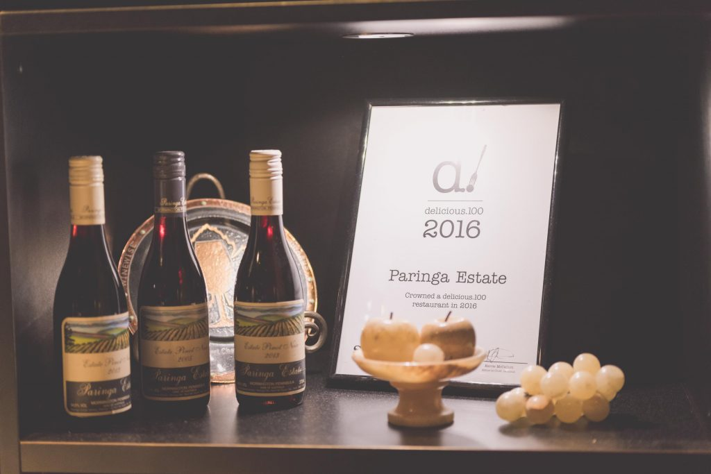 Wedding Photography Melbourne by Pause The Moment - Awards from the winery where a wedding was held - Paringa Estate Wedding Photographer