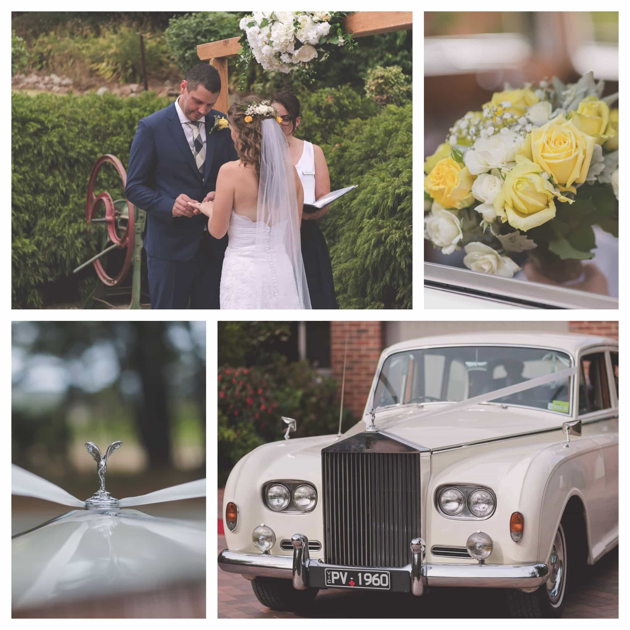 A selection of images from a Weddin on the Mornington Peninsula