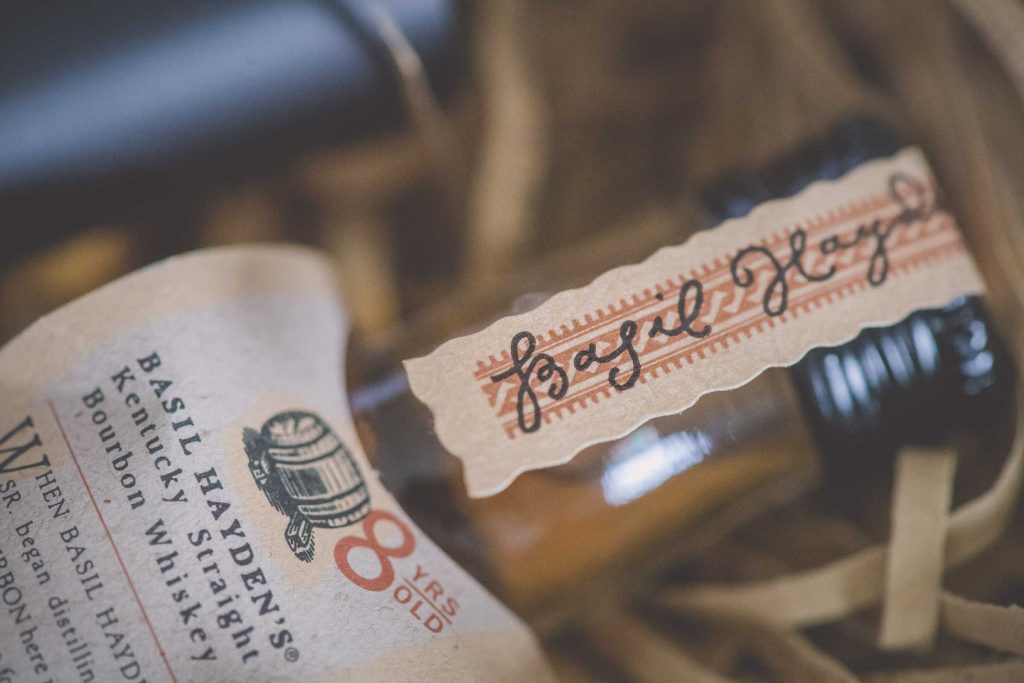 Melbourne wedding photography of a whiskey bottle