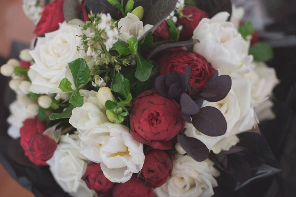 Flowers at a Melbourne wedding. Photography by Pause The Moment
